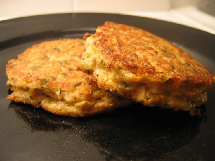 Salmon patties i made this with a tuna fish size can of for How to make tuna fish with eggs