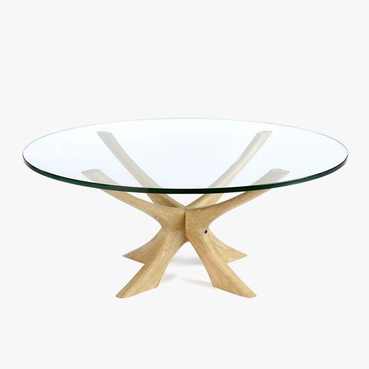 Wikkelso-Coffee-Table-Oak Clear Glass