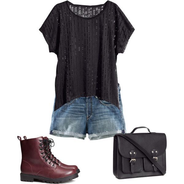 Clary Fray inspired casual by tessgray on Polyvore featuring H&M