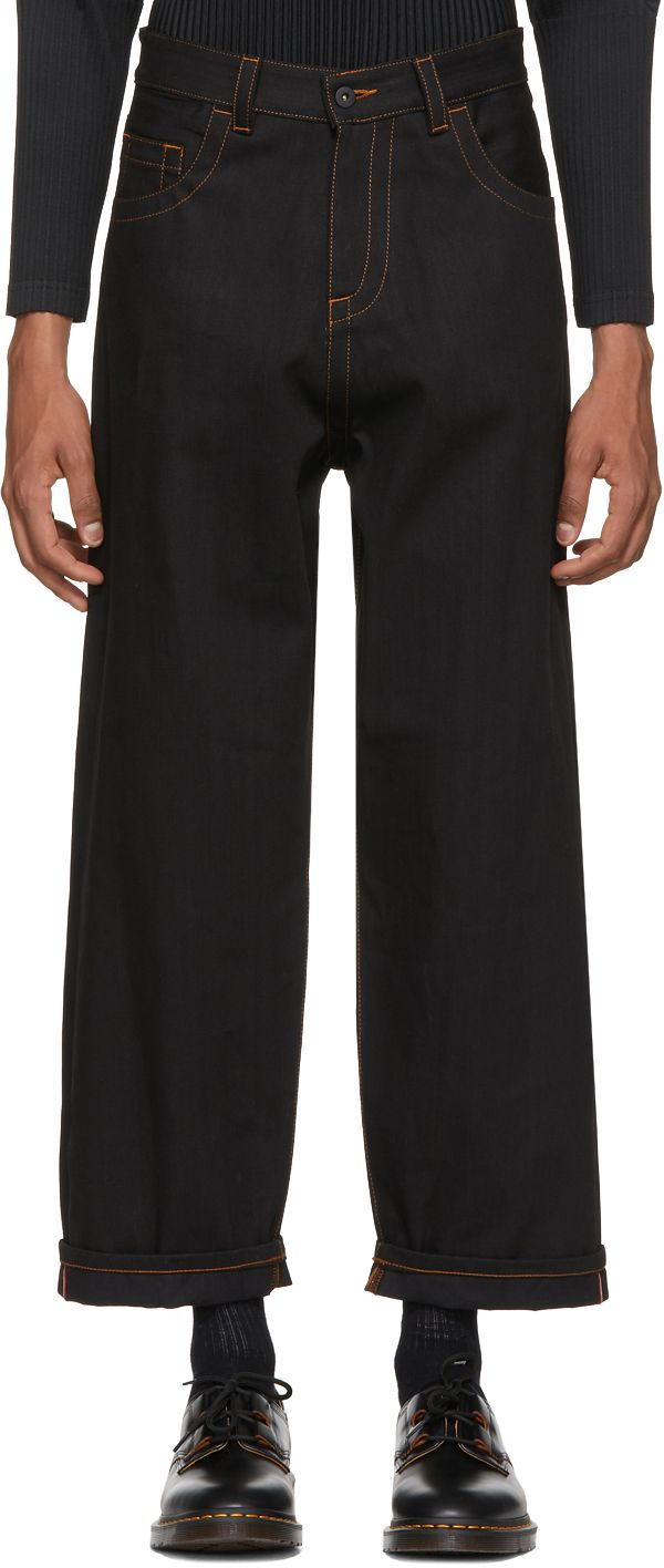 Craig Green - Black Loose Fit Jeans
