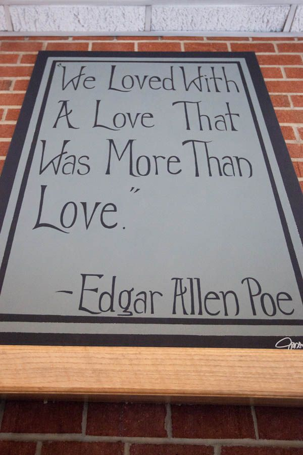 An Edgar Allan Poe Themed Spooky Romance: TJ & Elizabeth · Rock n Roll Bride