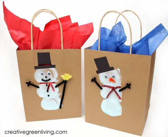 Creative Green Living: How to Make Cute Custom Gift Bags & $100 Dollar Tree Gift Card Giveaway!