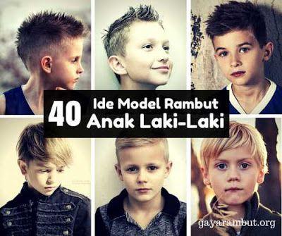 40 model rambut 2016 untuk anak laki-laki