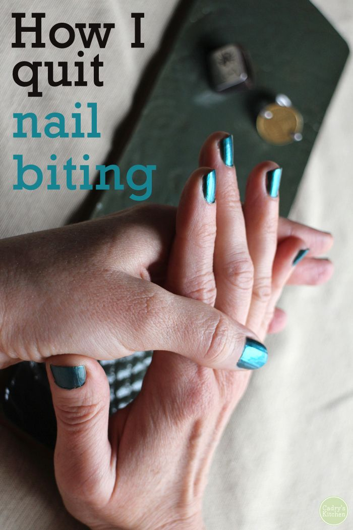 How I Quit Nail Biting Fun Stuff Pinterest Nails And Tips