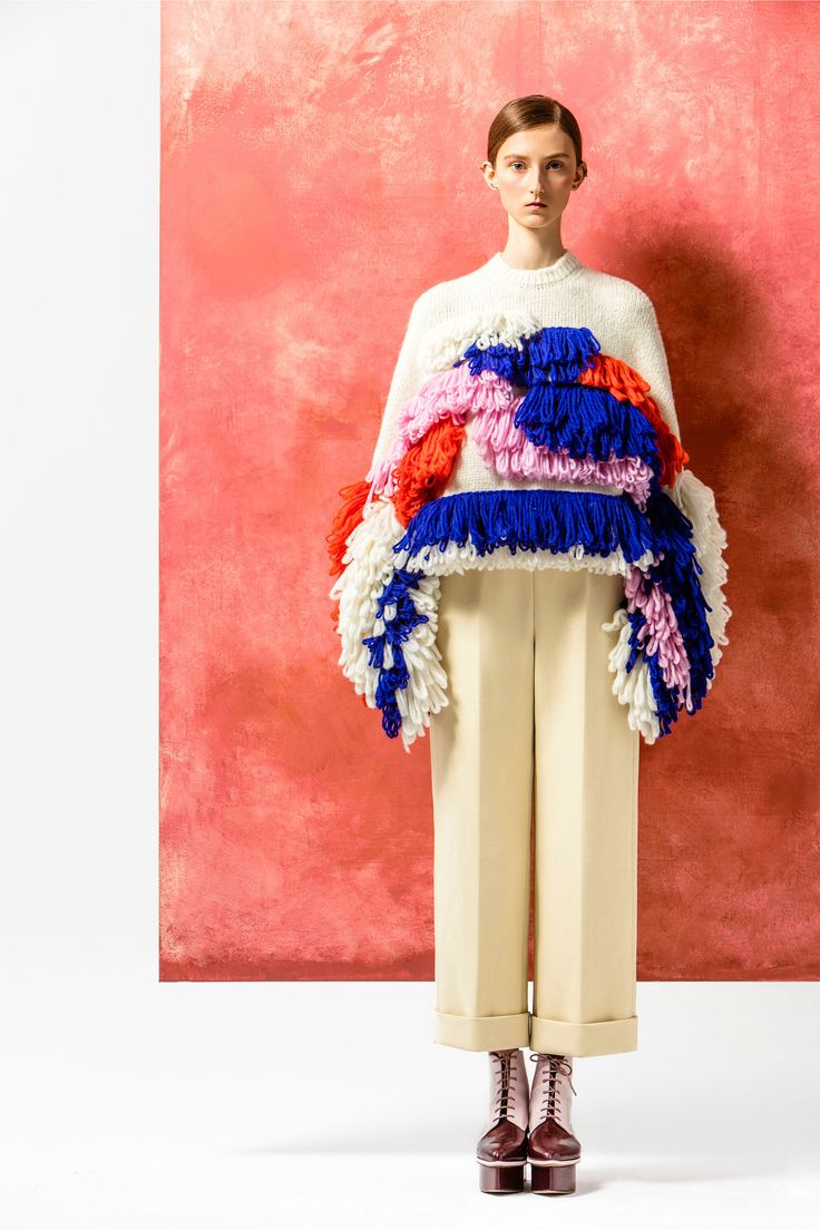 How many of these sweaters do you think the designer sold? The ultimate ugly non-Christmas sweater.