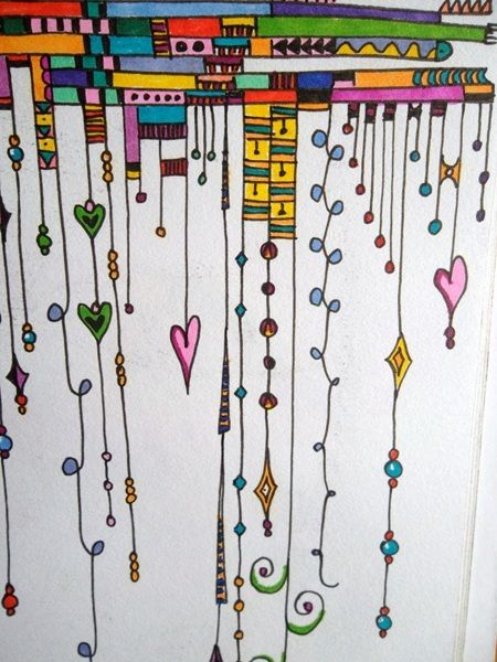 Ellen Wolters does an awesome job drawing Zenspirations Dangle Designs... Check out her YouTube videos...