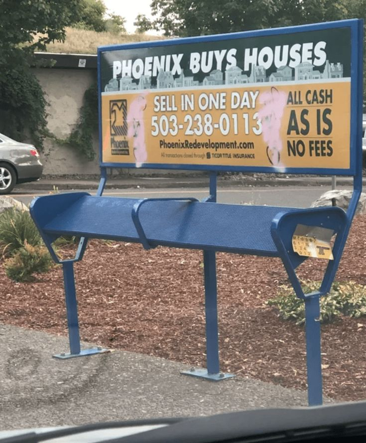 Hostile Architecture That Brought Discomfort Into The