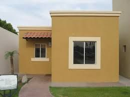 fachadas de casas pequeñas de infonavit - Buscar con Google #casaspequeñasinfonavit