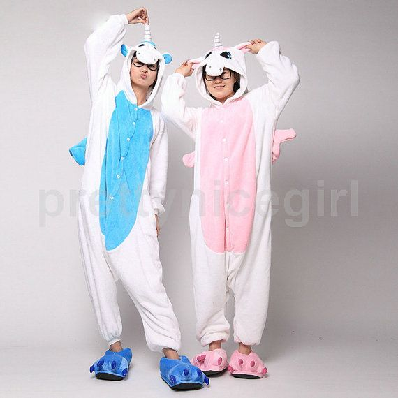 Transform into the unicorn of your wildest dreams, with our unicorn onesie!