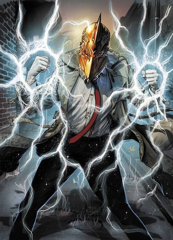 Future's End: Constantine #1 by Juan Ferreyra *