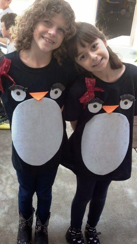 Jilliene Designing: Easy Kid Penguin Costumes