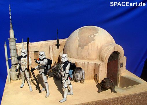 Star Wars: Hunt for Droids - Deluxe Diorama ... http://spaceart.de/produkte/sw024.php