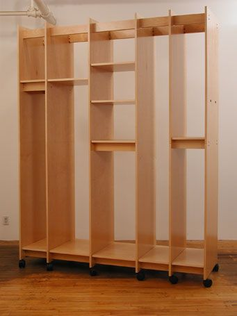 Art Storage shelves adjust in height and lock in place ...