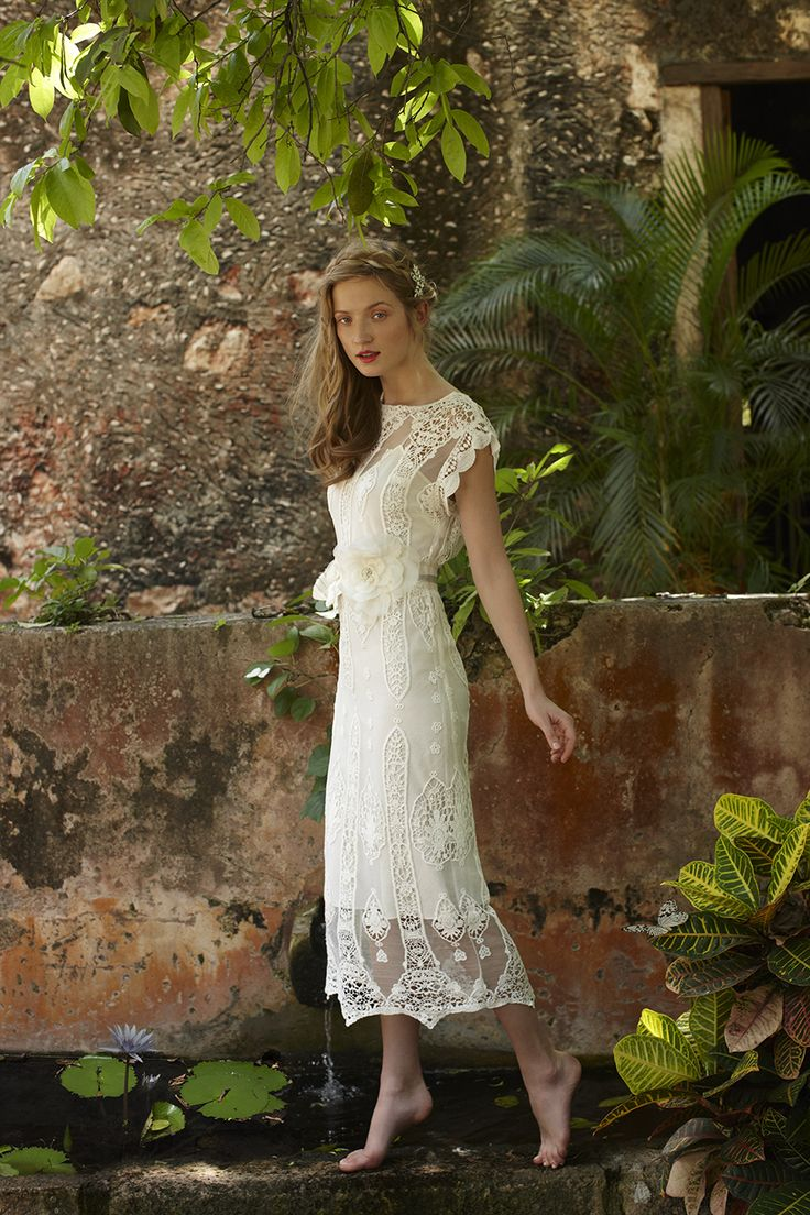 A Tropical Love Relationship: The Summer Wedding Dress Collection by BHLDN
