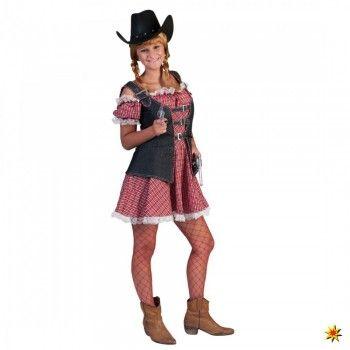 Kostüm Cowgirl, Ranger Lady Karo kaufen