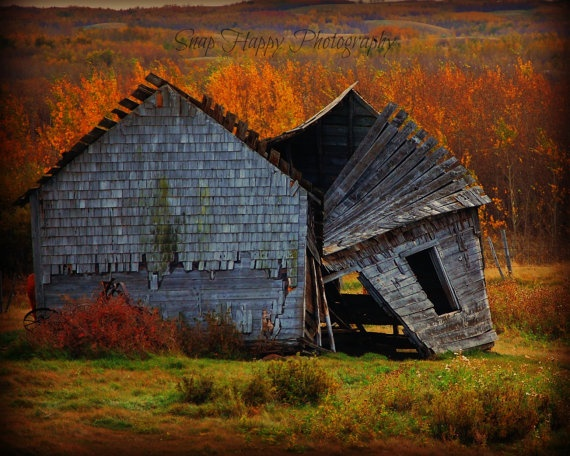 Retired  8x10 Photo  Abandoned Farm House  Old by Snaphappy72, $15.00