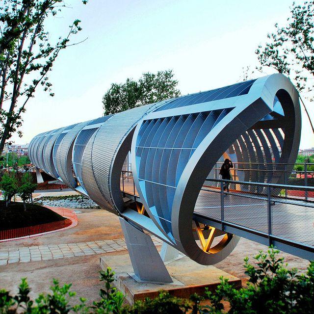 82 Puente Parque de la Arganzuela D. Perrault 37429 | Flickr: Intercambio de fotos
