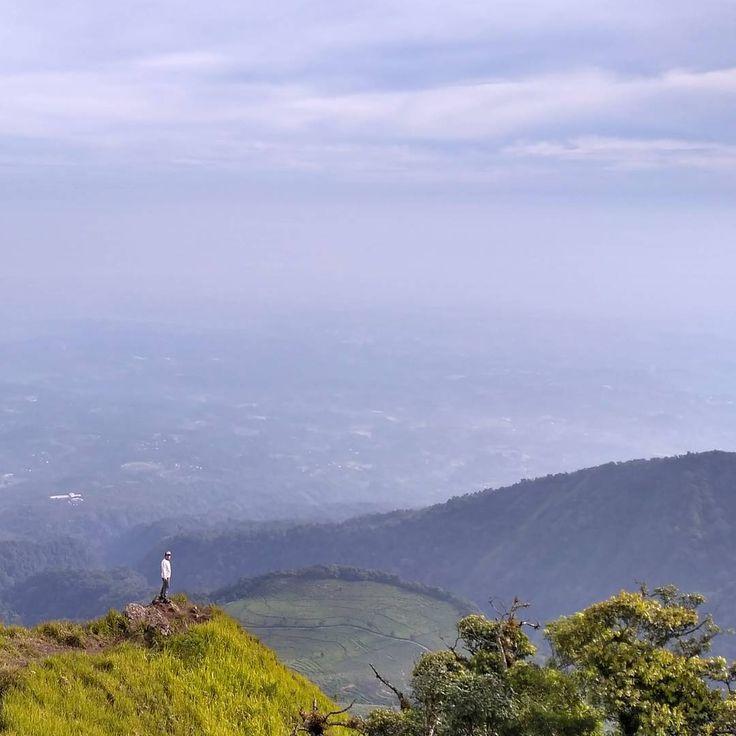 Tak hanya sekedar mendaki saja, selama diperjalanan menuju Gunung Ungaran coba pandang dan perhatikan pemandangan di sekelilingnya, Dolaners akan disuguhi pemandangan alam yang luar biasa indah.[Photo by instagram.com/si_parno]