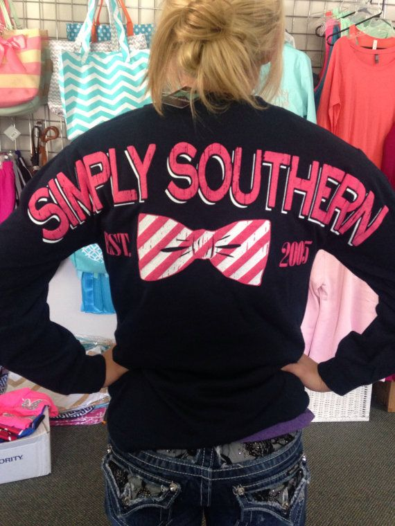I have to have this!!!!! https://www.etsy.com/listing/202729021/simply-southern-long-sleeve-tee