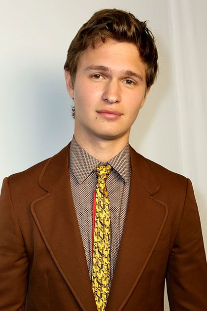 Ansel Elgort Will Let You Take a Picture with Him...but Only Under One Condition