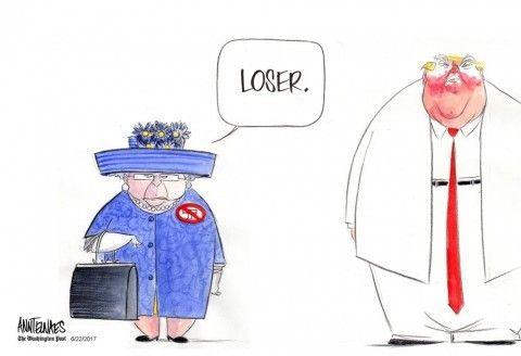 Queen Elizabeth II rules