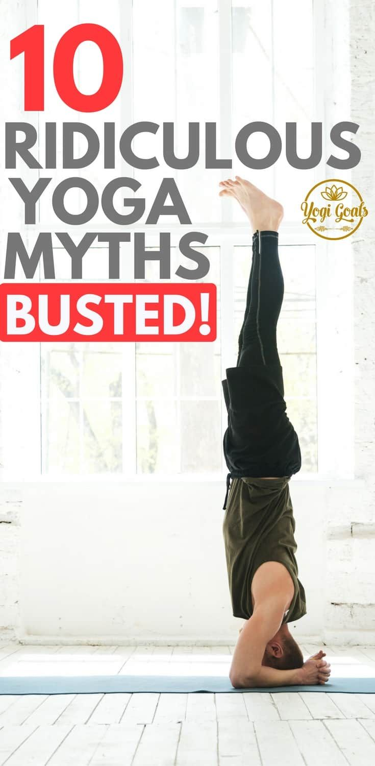 It's time to clear some things up. For too long, yoga has been bogged down by ridiculous myths and mistaken views. Let's bust these yoga myths wide open. #yoga #yogainspiration #yogalife #yogadudes #yogagoals #fitness #yogalove #yogaeverydamnday #yogaforbeginners