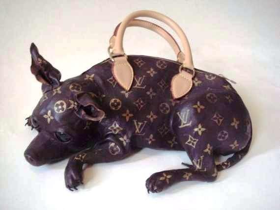 Very bizarre LV bag