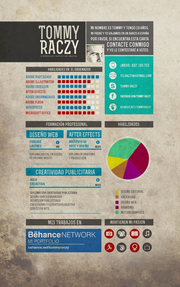 168 best Creative CV Inspiration images on Pinterest Projects - most creative resumes