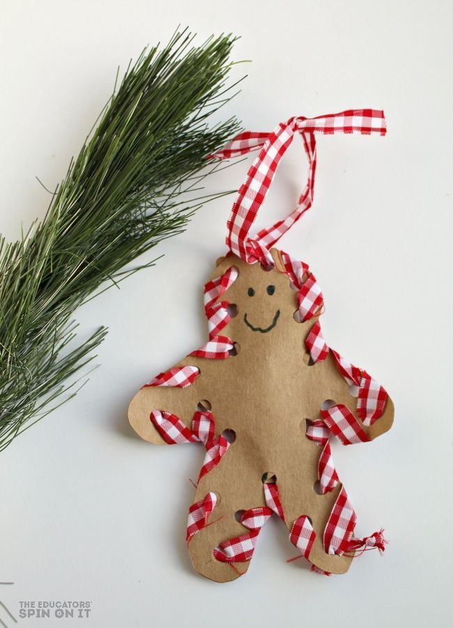 Homemade Christmas Decorations For Preschoolers : Best images about handmade ornaments for kids on