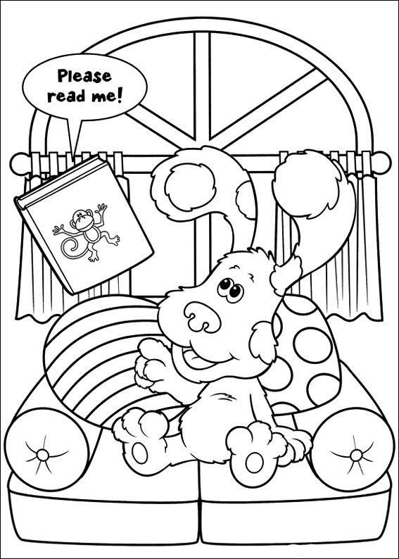 Pistas De Blue 28 Dibujos Faciles Para Dibujar Para Ninos Colorear Cartoon Coloring Pages Coloring Pages Nick Jr Coloring Pages