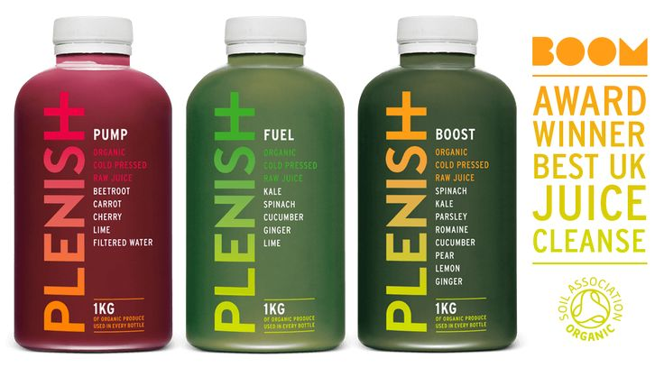 Award winning organic juice cleanses