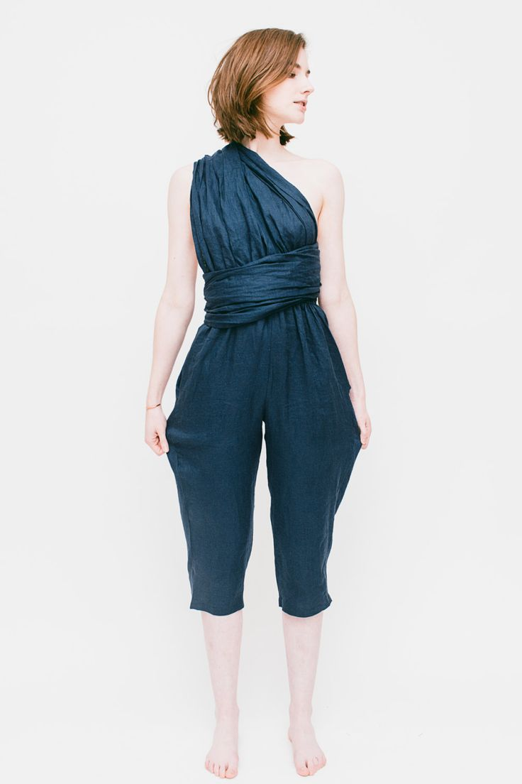 Sash Jumpsuit (260.00 USD) by laurenwinterco