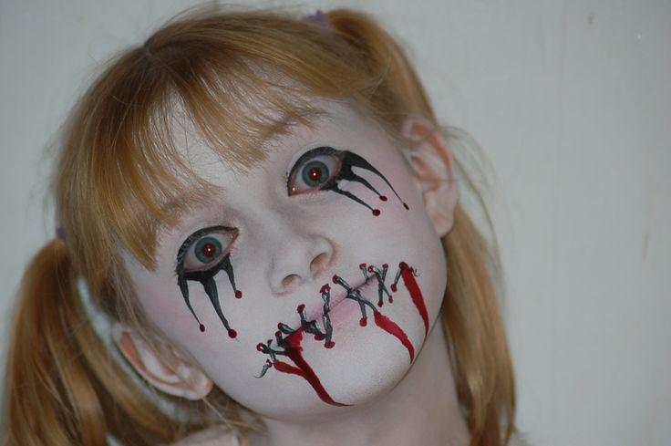 Voodoo doll Art Face Paint by Cyndi McKnight with Cyndi's ...