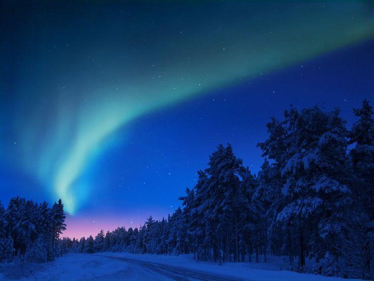 Northern Lights in Norrland, Sweden