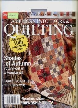 AMERICAN PATCHWORK & QUILTING OCTOBER 2003