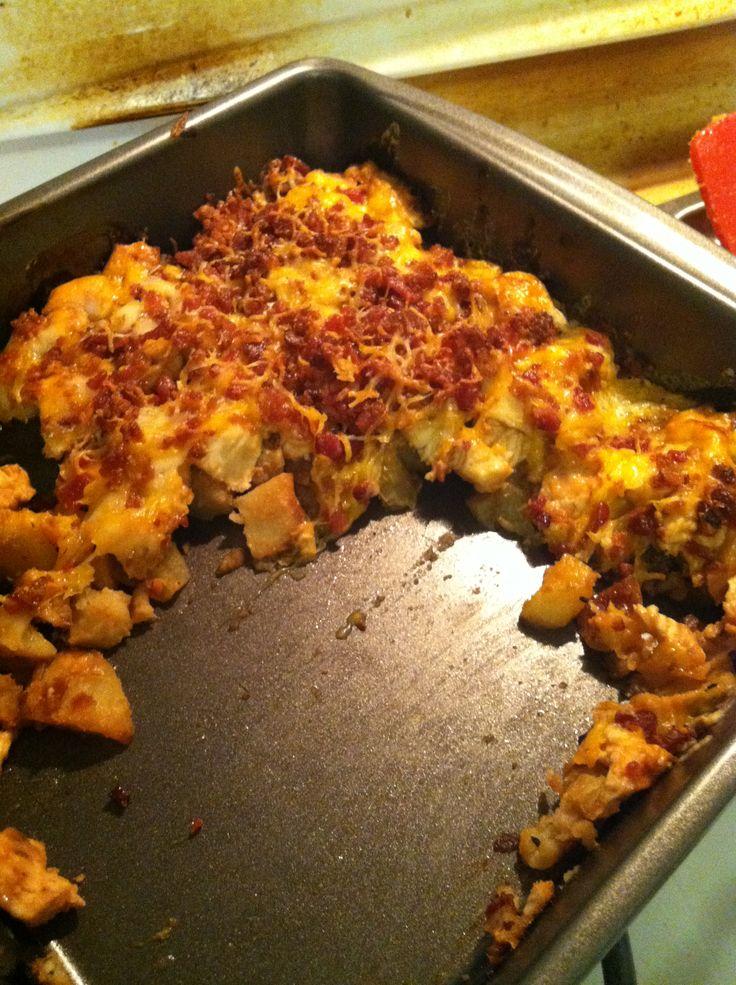 Loaded Potato BBQ Chicken Casserole! | Casseroles | Pinterest | Photos ...