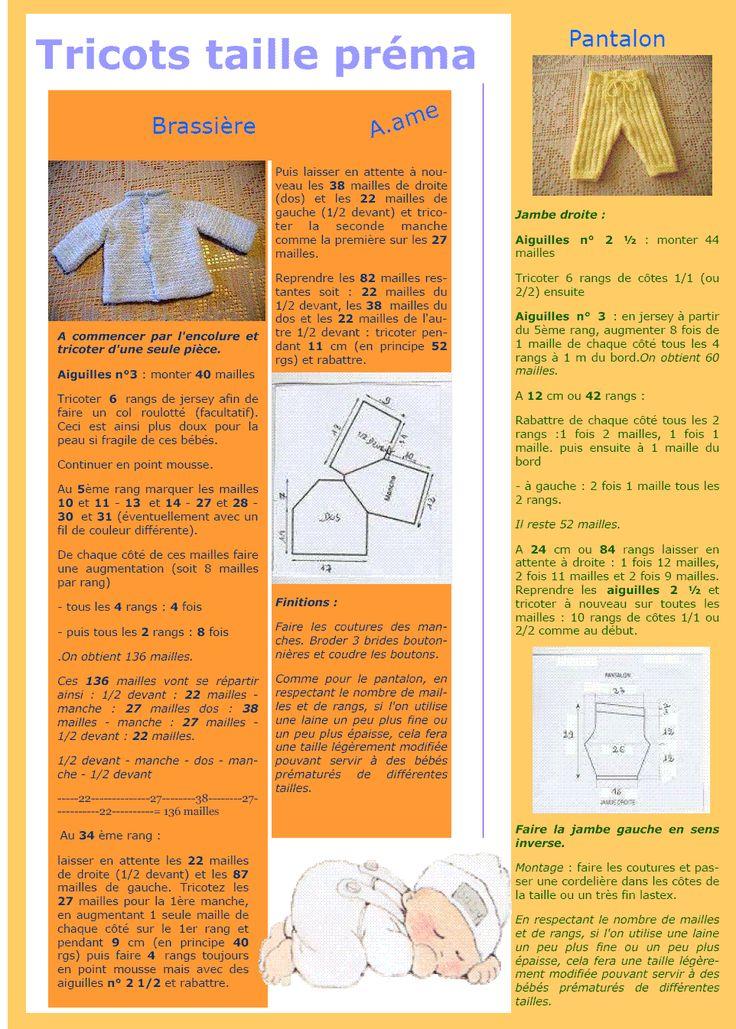 Chaussons prématuré  Le blog de Thali, Activités pour petites mains