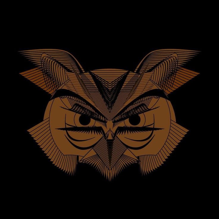 Angry owl .. one of my first vector icons #vectorart #graphicdesign #digitaldrawing