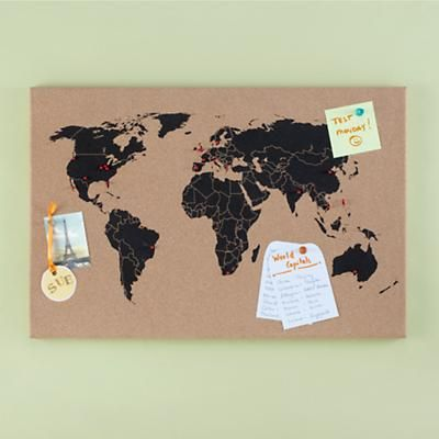 Personalised classic world map pin box wall maps and walls world personalised classic world map pin box wall maps and walls world map pinboard amazoncom world map cork pinboard bundle by luckies notonthehighstreetcom gumiabroncs Image collections