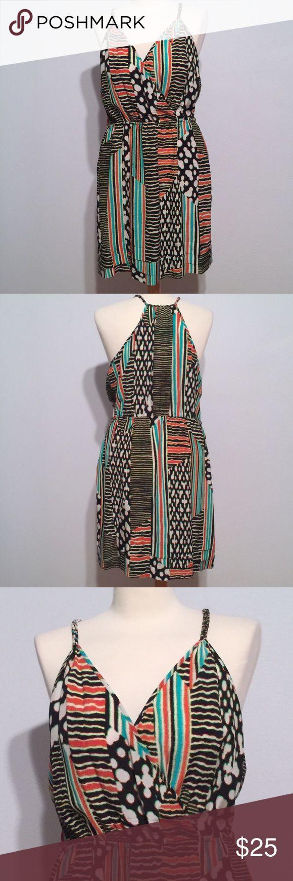 Charlie Jade 100% Silk printed summer dress Super cute summer dress by Charlie Jade! 100% Silk, Size L. Charlie Jade brand purchased at Nordstrom. Nordstrom Dresses