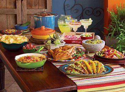 Mexican buffet!