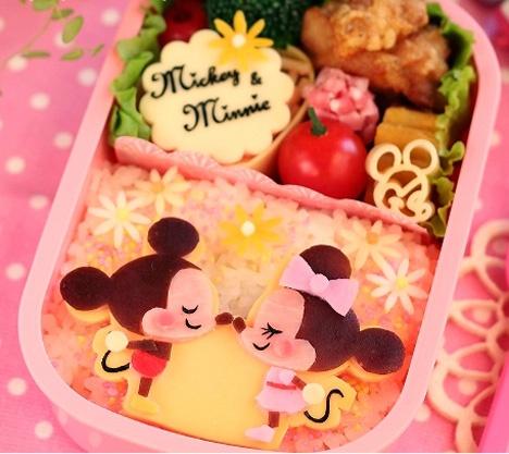 ミッキー & ミニー弁当 Mickey & Minnie Bento