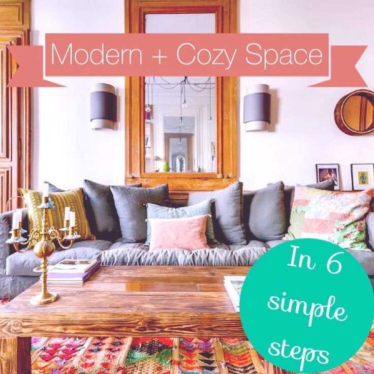 ECourse Modern Cozy Space In 6 Simple Steps
