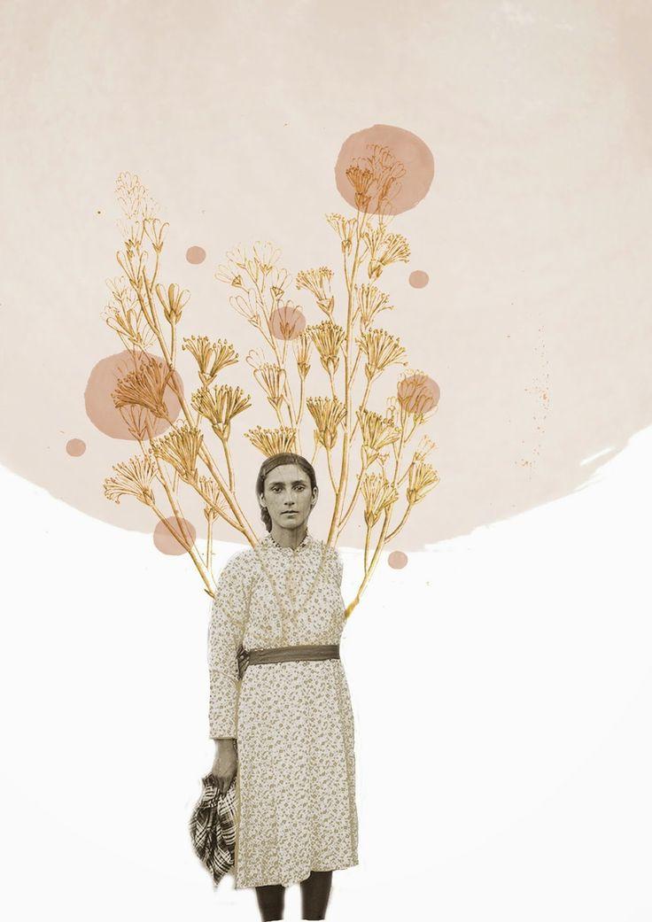 Illuminated // digital collage by Kiara Mucci