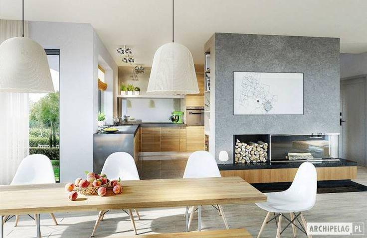 Comedores de estilo Moderno de Pracownia Projektowa ARCHIPELAG