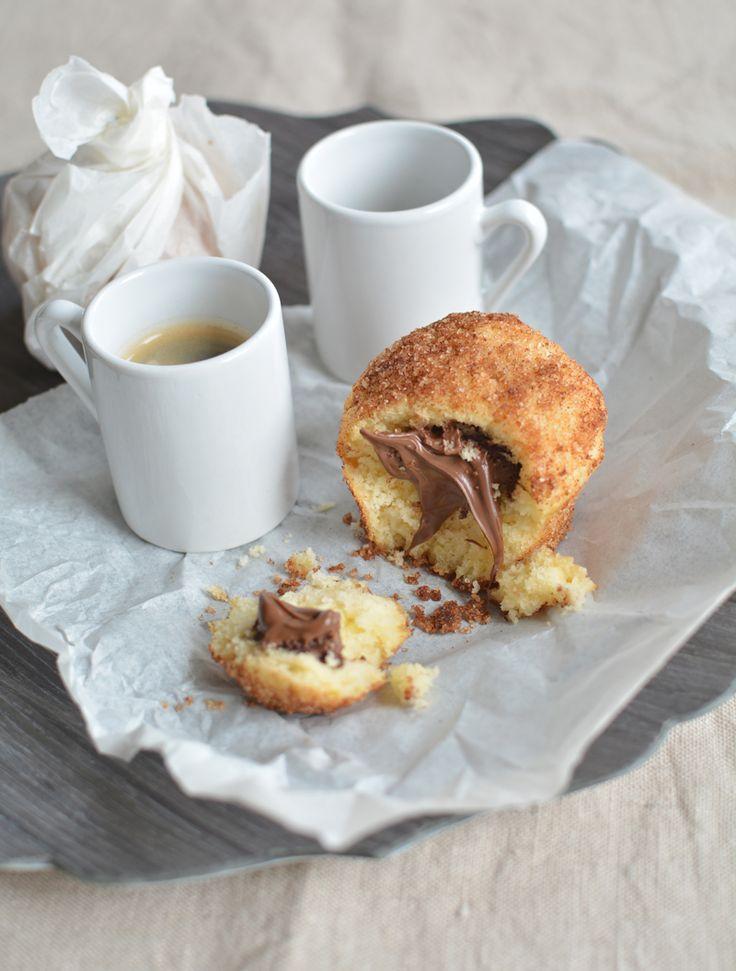 Fahéjas fánk muffin