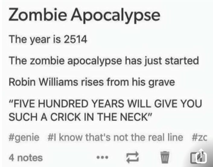 Robin Williams would actually do this