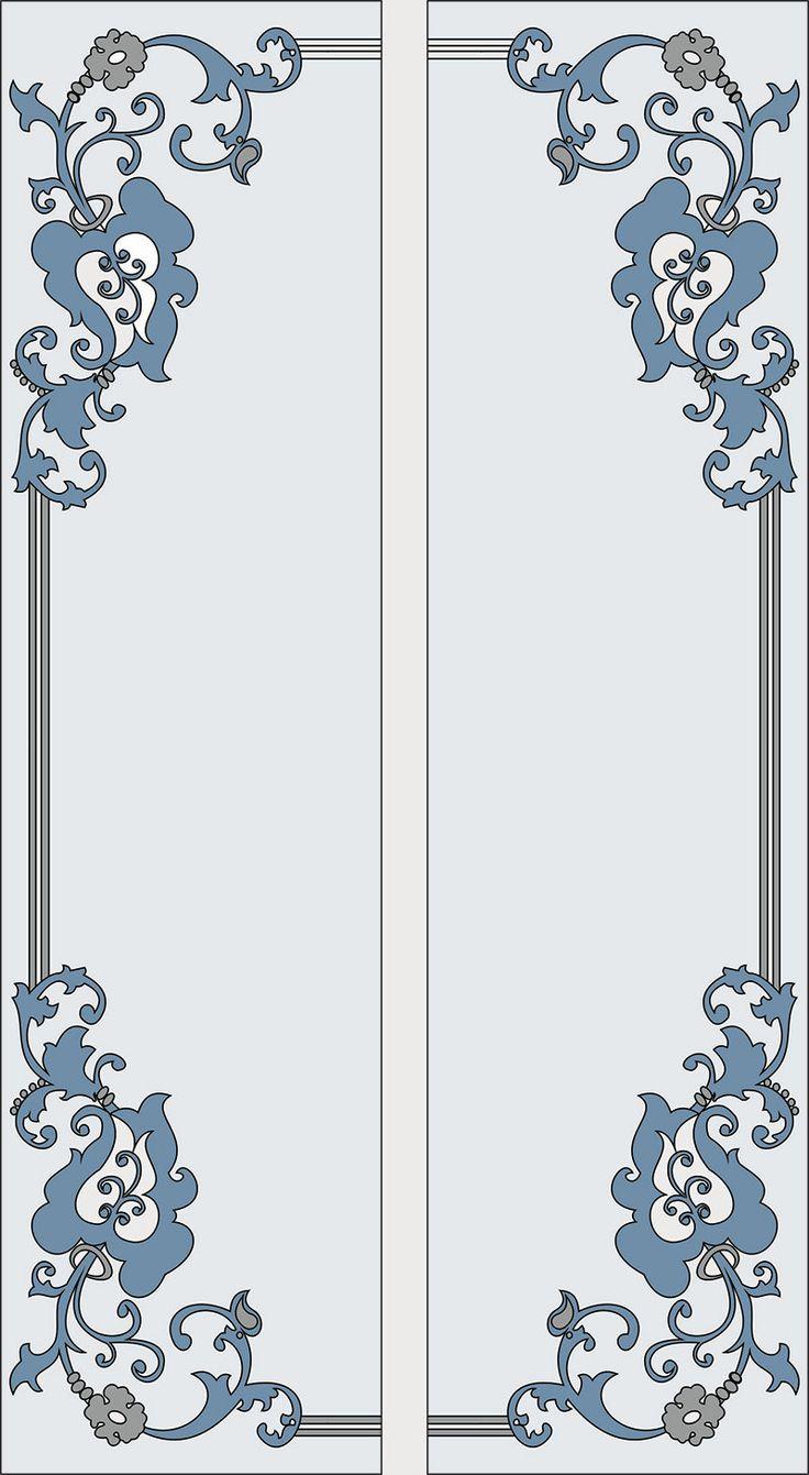 Картинки узоры на двери