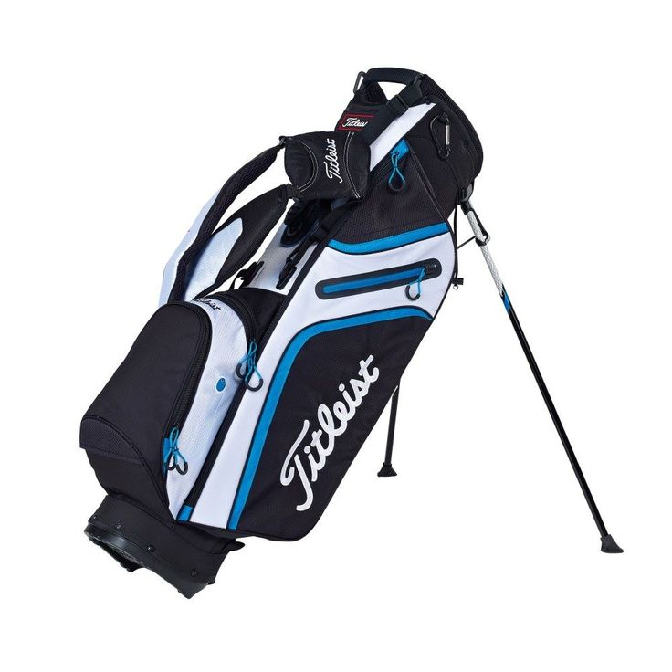 Titleist Ultra-Lightweight Stand Bag - 2015 - High quality golf bags from Titleist golf available now at Foremost Golf - https://www.foremostgolf.com/titleist-ultra-lightweight-stand-bag-2015