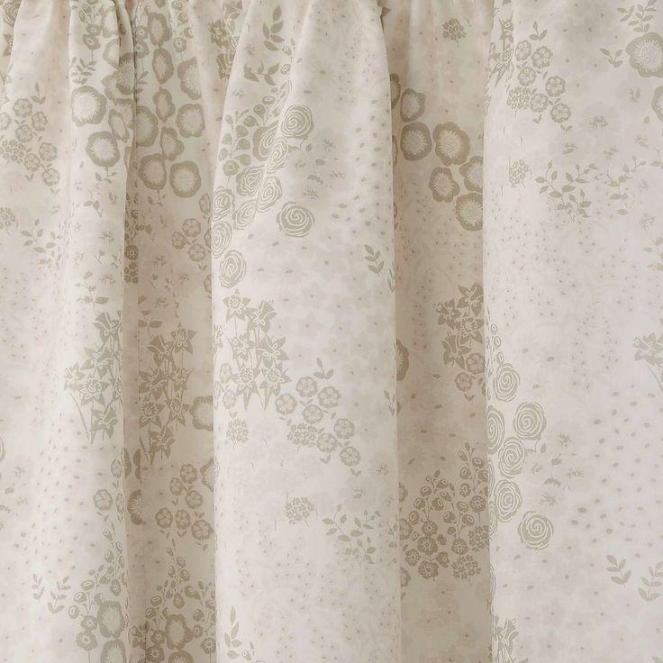 Aubrey Natural Thermal Pencil Pleat Curtains | Dunelm